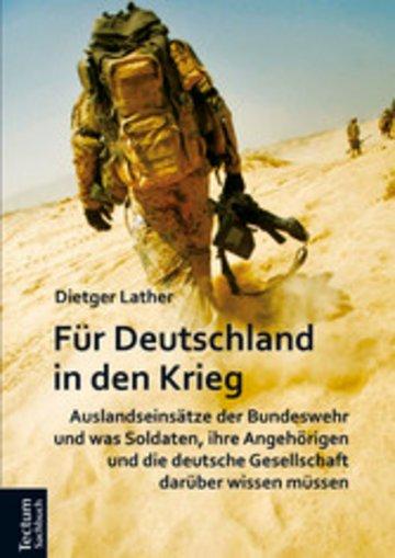 eBook Für Deutschland in den Krieg Cover