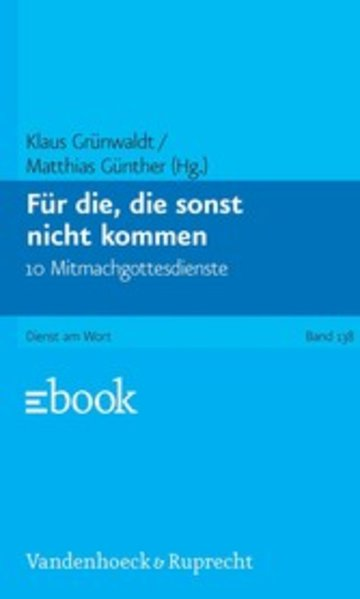eBook Für die, die sonst nicht kommen Cover