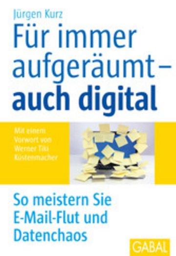 eBook Für immer aufgeräumt- auch digital Cover