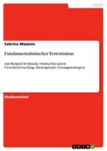 eBook Fundamentalistischer Terrorismus Cover