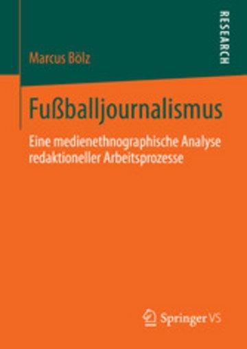 eBook Fußballjournalismus Cover