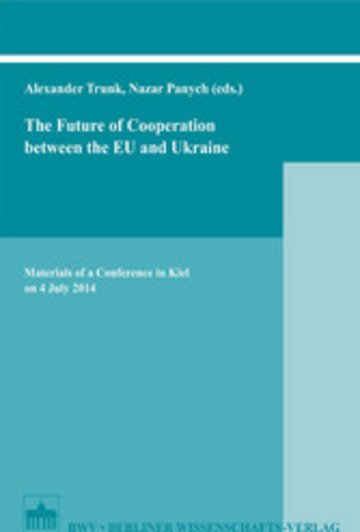 eBook The Future of Cooperation between the EU and Ukraine Cover