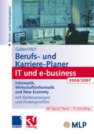eBook Gabler / MLP Berufs- und Karriere-Planer IT und e-business 2006/2007 Cover