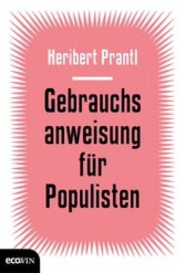 eBook Gebrauchsanweisung für Populisten Cover