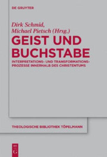 eBook Geist und Buchstabe Cover