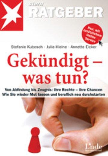eBook Gekündigt - was tun? Cover