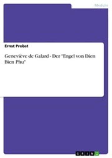 eBook Geneviève de Galard - Der 'Engel von Dien Bien Phu' Cover