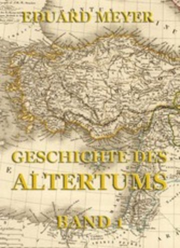 eBook Geschichte des Altertums, Band 1 Cover