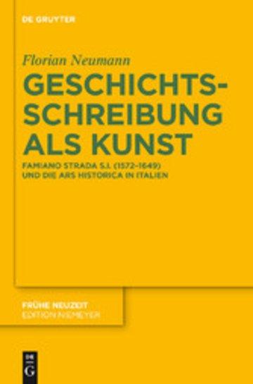 eBook Geschichtsschreibung als Kunst Cover