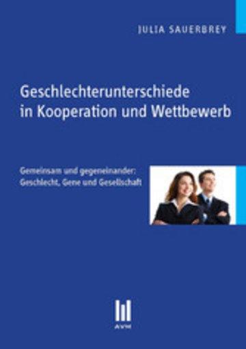 eBook Geschlechterunterschiede in Kooperation und Wettbewerb Cover