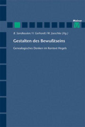 eBook Gestalten des Bewußtseins Cover