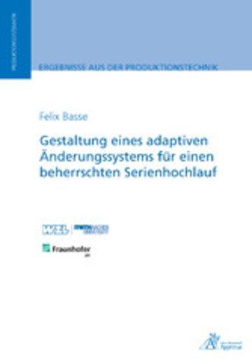 eBook Gestaltung eines adaptiven Änderungssystems für einen beherrschten Serienhochlauf Cover