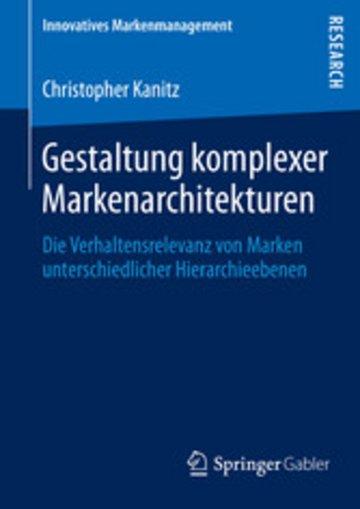 eBook Gestaltung komplexer Markenarchitekturen Cover