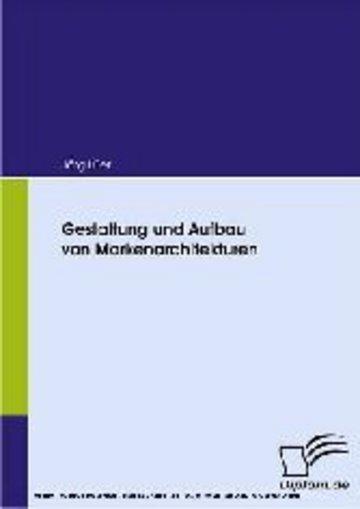 eBook Gestaltung und Aufbau von Markenarchitekturen Cover