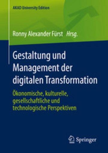 eBook Gestaltung und Management der digitalen Transformation Cover