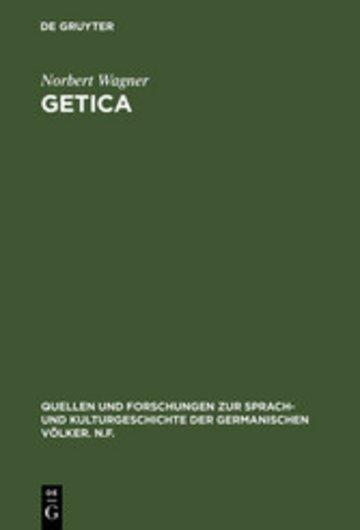 eBook Getica Cover