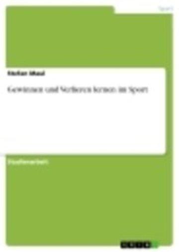 eBook Gewinnen und Verlieren lernen im Sport Cover