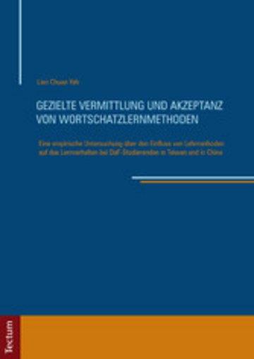 eBook Gezielte Vermittlung und Akzeptanz von Wortschatzlernmethoden Cover