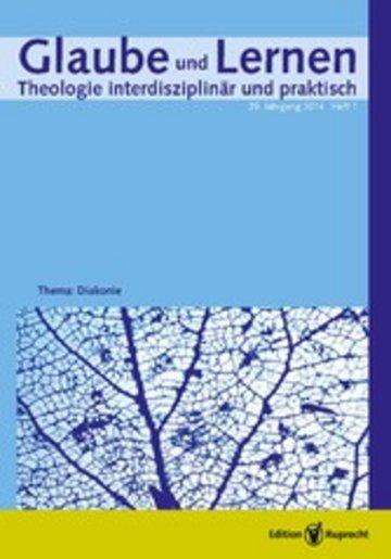eBook Glaube und Lernen 1/2014 - Einzelkapitel Cover