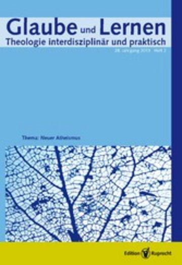 eBook Glaube und Lernen 2/2013 Themenheft: Neuer Atheismus Cover