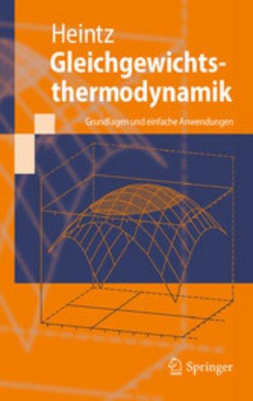 eBook Gleichgewichtsthermodynamik Cover