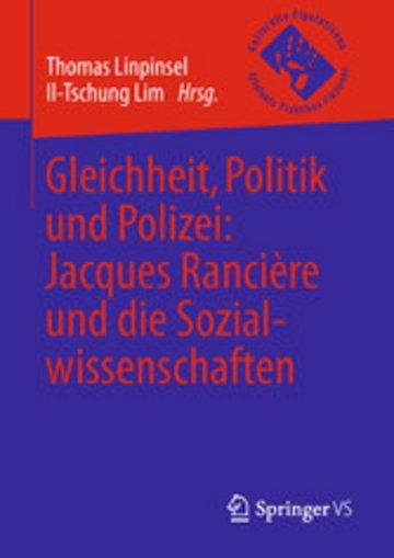 eBook Gleichheit, Politik und Polizei: Jacques Rancière und die Sozialwissenschaften Cover