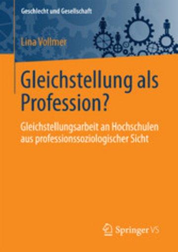 eBook Gleichstellung als Profession? Cover
