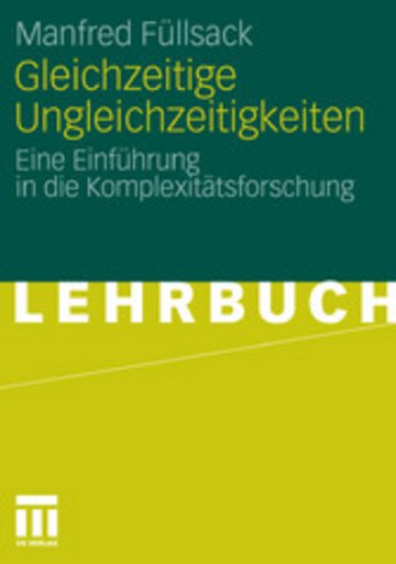 eBook Gleichzeitige Ungleichzeitigkeiten Cover