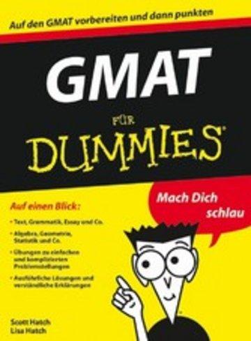 eBook GMAT für Dummies Cover
