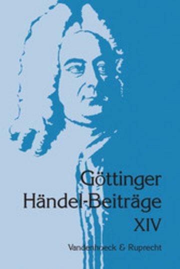 eBook Göttinger Händel-Beiträge, Band 14 Cover