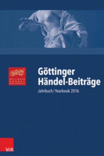 eBook Göttinger Händel-Beiträge, Band 17 Cover