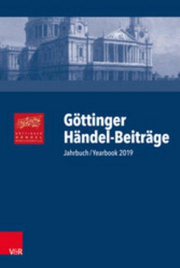 eBook Göttinger Händel-Beiträge, Band 20 Cover