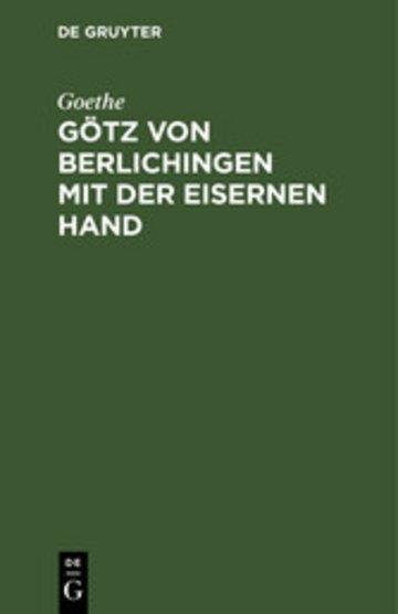 eBook Götz von Berlichingen mit der eisernen Hand Cover