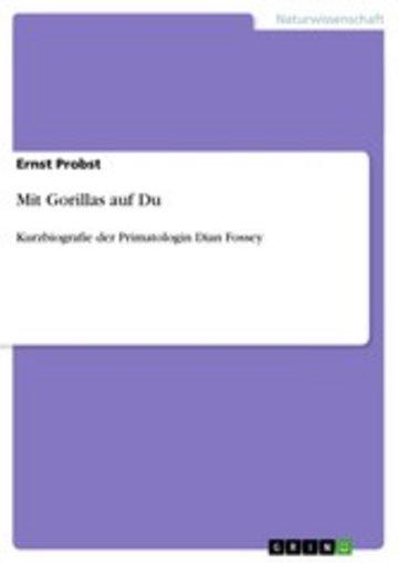 eBook Mit Gorillas auf Du Cover