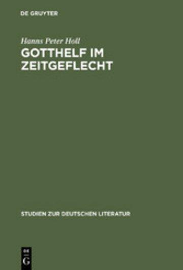 eBook Gotthelf im Zeitgeflecht Cover