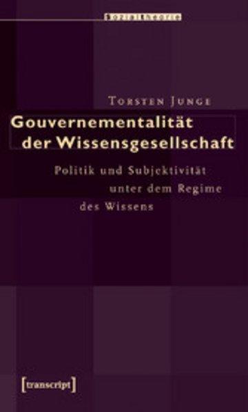 eBook Gouvernementalität der Wissensgesellschaft Cover