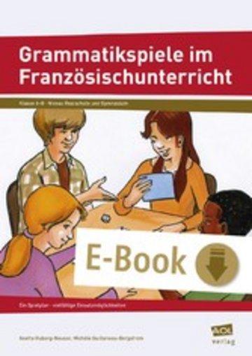 eBook Grammatikspiele im Französischunterricht Cover