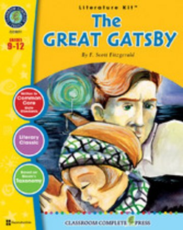 eBook The Great Gatsby (F. Scott Fitzgerald) Cover