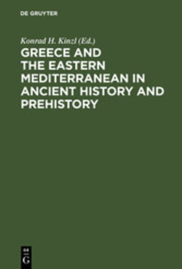 eBook Greece and the Eastern Mediterranean in ancient history and prehistory Cover