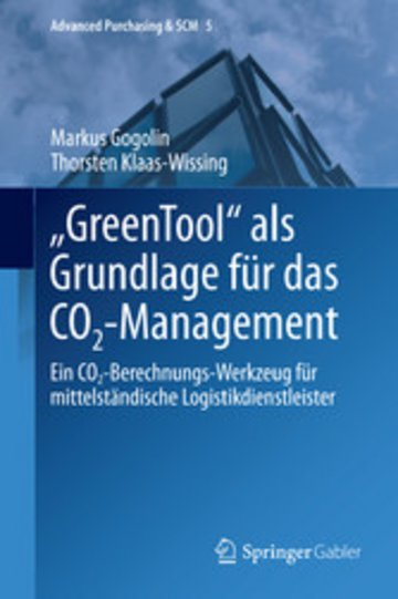 eBook 'GreenTool' als Grundlage für das CO2-Management Cover