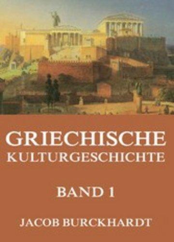 eBook Griechische Kulturgeschichte, Band 1 Cover