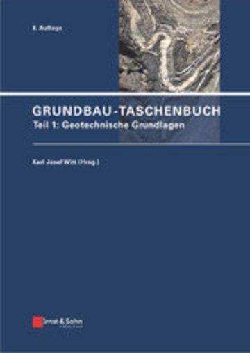 eBook Grundbau-Taschenbuch, Teil 1 Cover