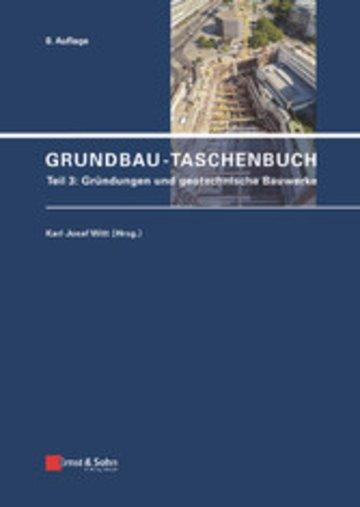 eBook Grundbau-Taschenbuch, Teil 3 Cover