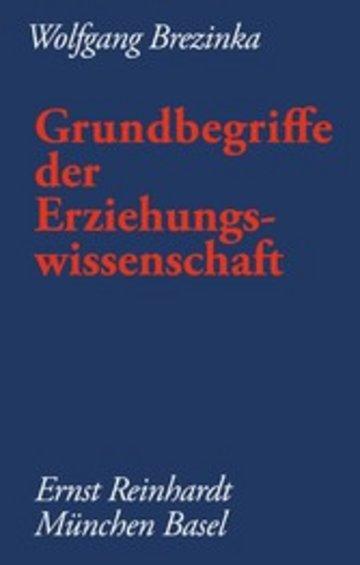 eBook Grundbegriffe der Erziehungswissenschaft Cover
