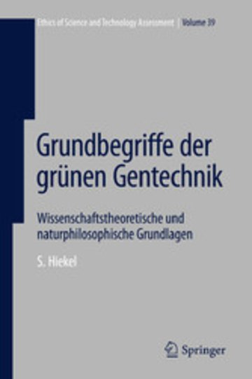 eBook Grundbegriffe der grünen Gentechnik Cover