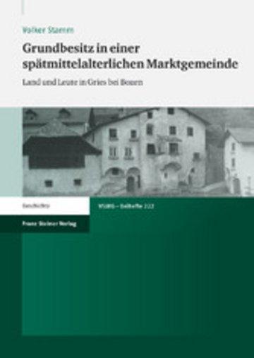 eBook Grundbesitz in einer spätmittelalterlichen Marktgemeinde Cover