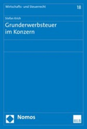 eBook Grunderwerbsteuer im Konzern Cover