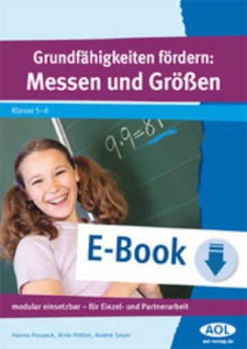 eBook Grundfähigkeiten fördern: Messen und Größen Cover