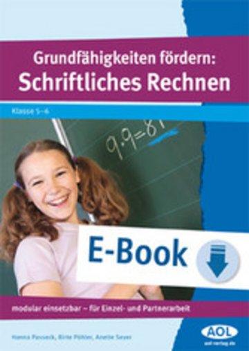 eBook Grundfähigkeiten fördern: Schriftliches Rechnen Cover