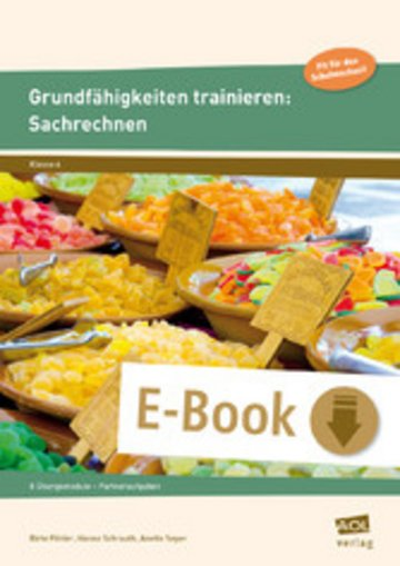 eBook Grundfähigkeiten trainieren: Sachrechnen Cover